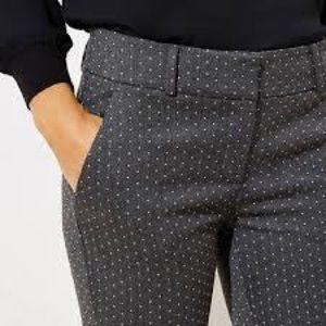 Petite Skinny Pindot Pants in Marisa Fit || LOFT